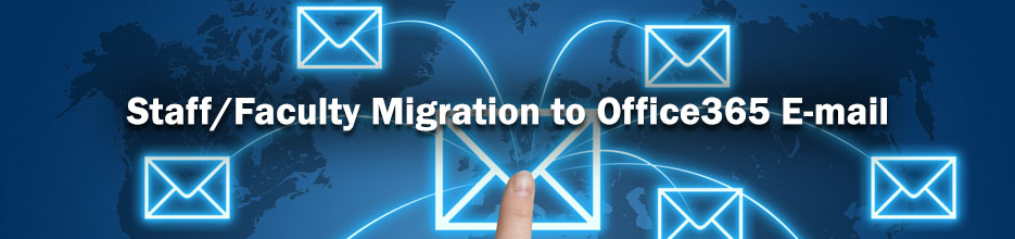 Office365 Email migration banner