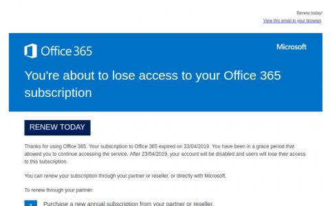Phishing Example April 24