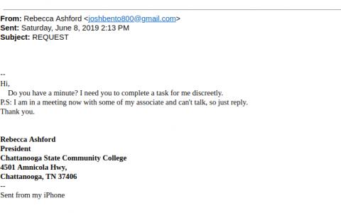 Phishing Example June 10
