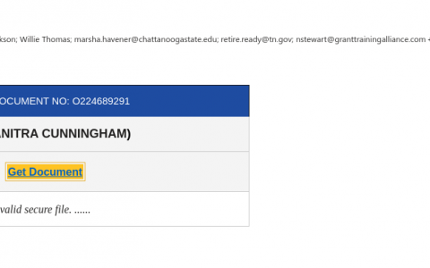 Phishing Alert 6/11/2020